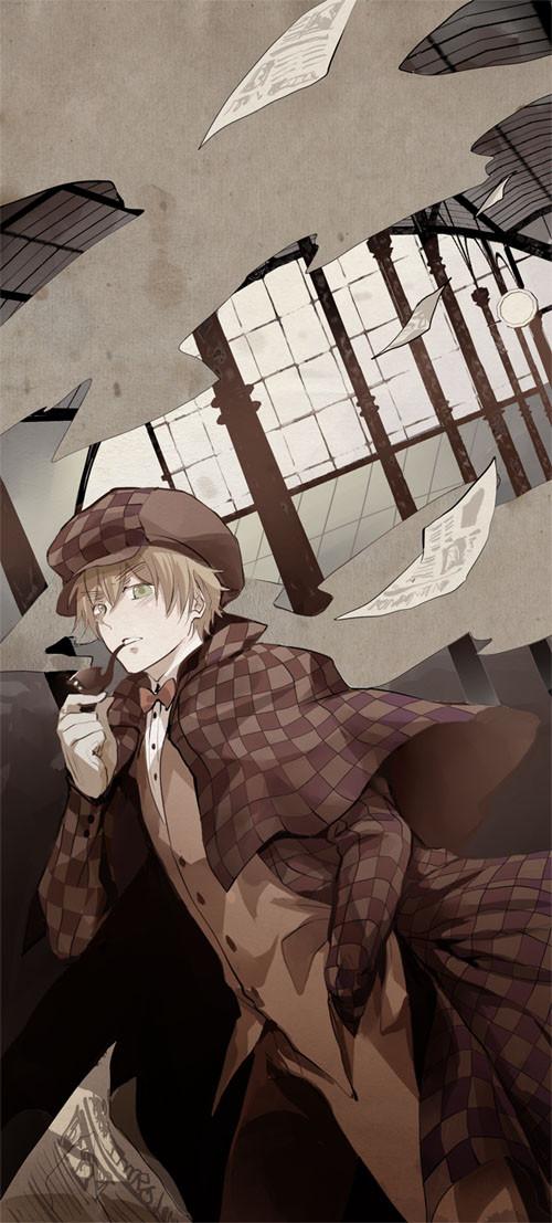 """Sherlock Holmes"" by DeviantArt user Mind*Creator (nairchan)"
