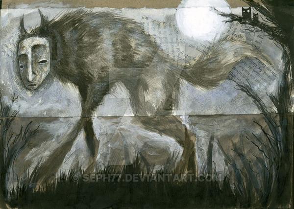 """""""Werewolf"""" by Deviantart user Joseph Witchall (seph77)"""