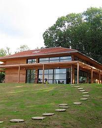maison construite selon principes biocli