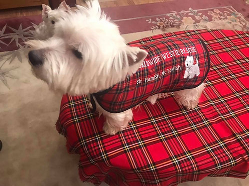 16 inch Worldwide Westie Trooper Coat (personalised)
