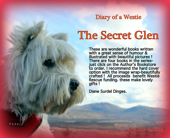 Hamish's Books for Sale | ww-westie-rescue