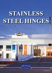 McCallum Stainless Steel Hinge