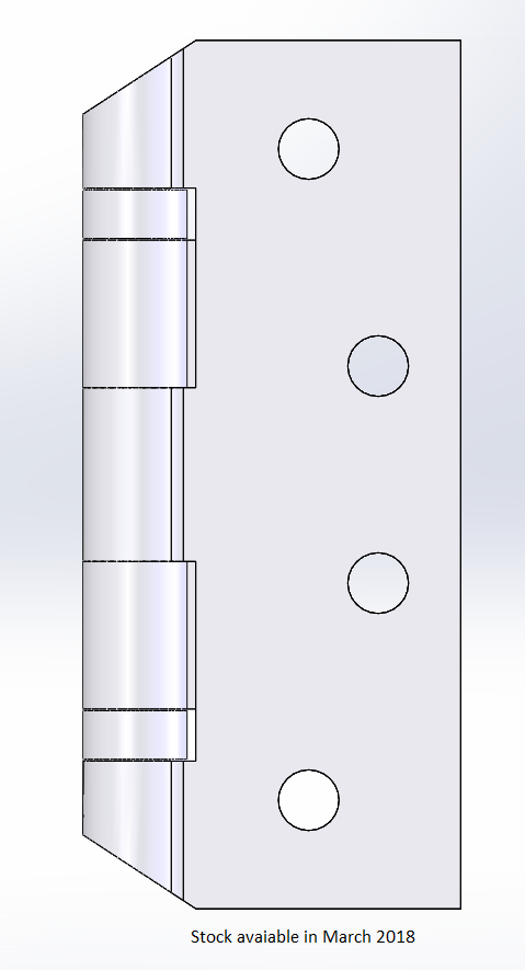 Anti Ligature hinge