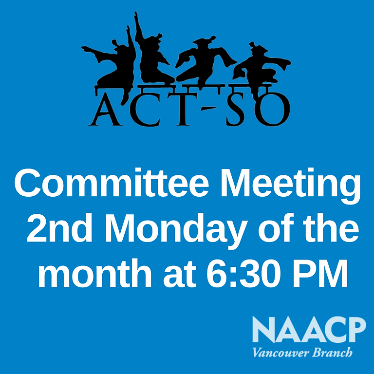 ACT-So Committee Meeting