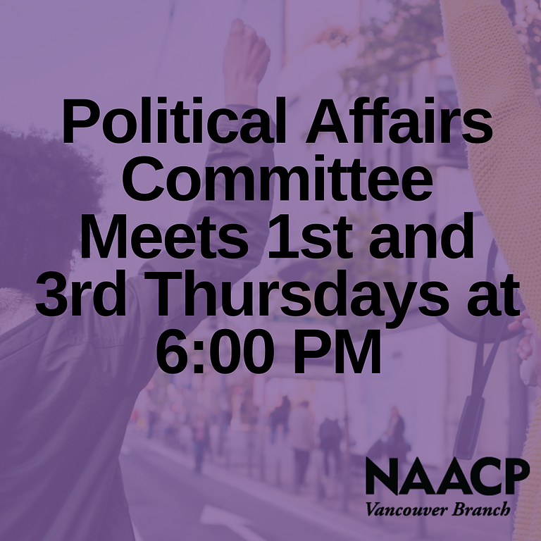 Political Affairs Committee Meeting