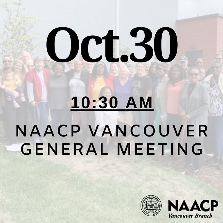 Virtual October General Meeting