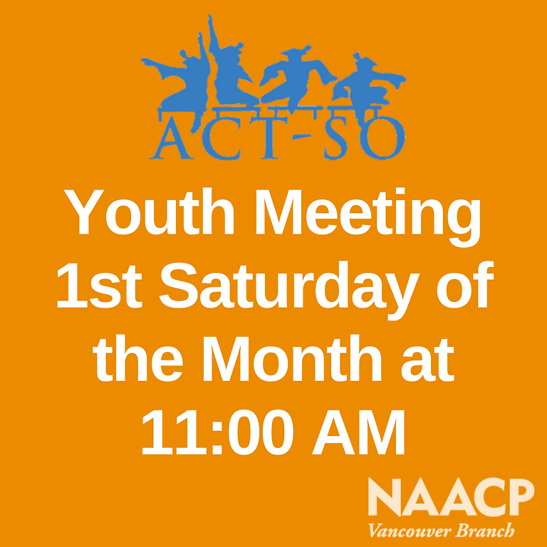 ACT-So Youth Meeting