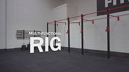 A multi-functional rig at the Fitness Worx Bidford Gym