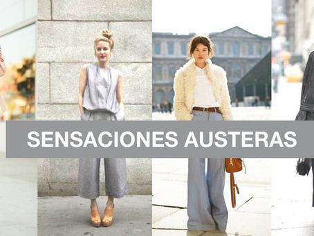 TENDENCIA SENSACIONES AUSTERAS