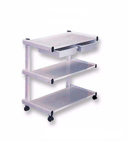 Metal Cart with 2 Drawers