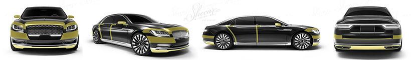 Оклейка авто защитной пленкой City!-пакет от Shecar.ru