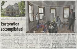 Babcock Shattuck House Restoration