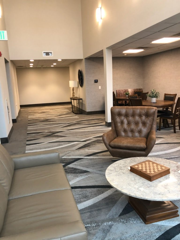 Lobby at Tumblerock Apartments