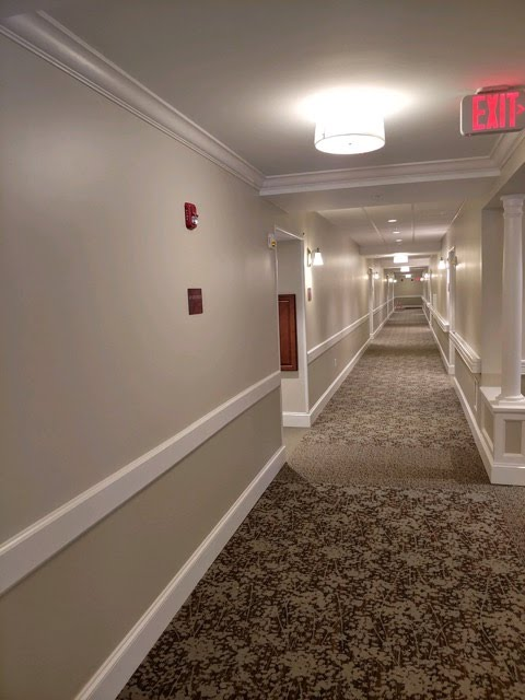 Corridor at Loretto D Wing