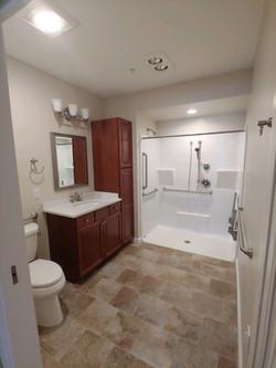 Unit Bathroom at Loretto D Wing