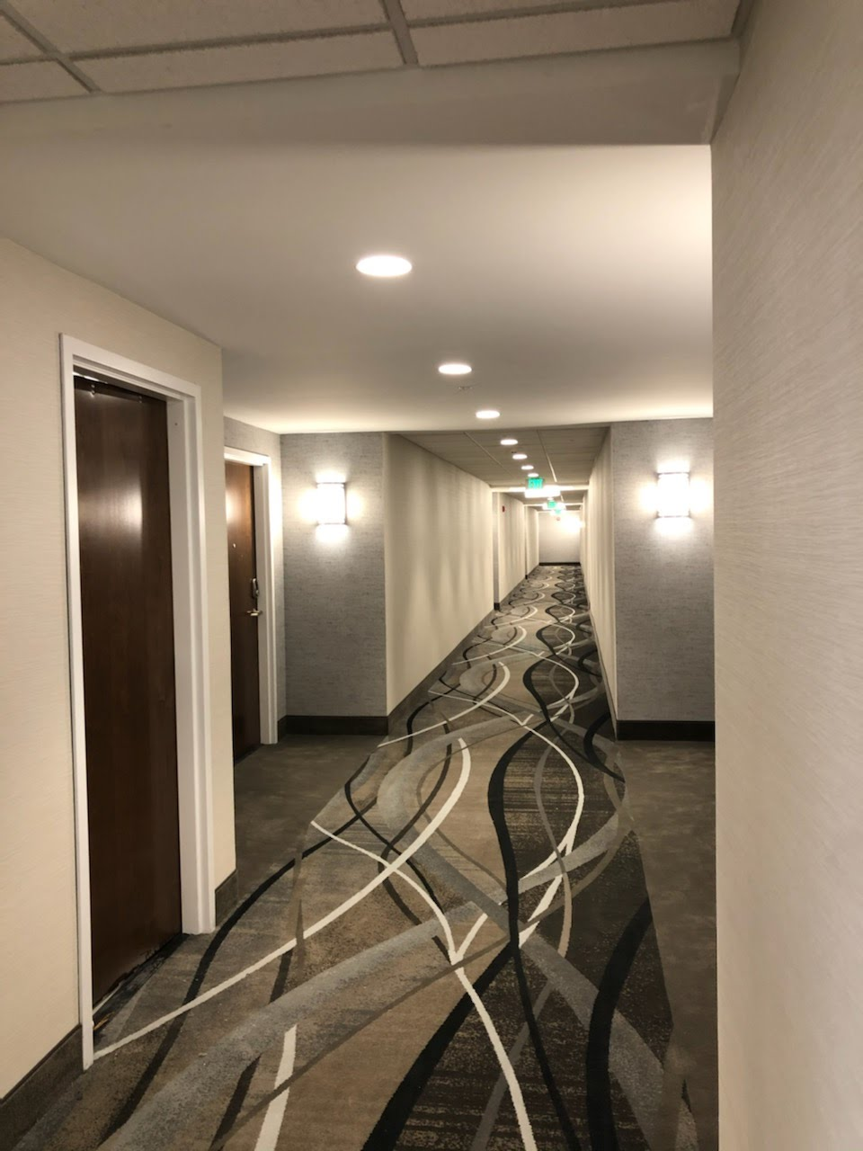 Corridor at Tumblerock Apartments