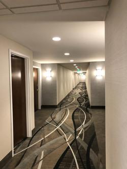 Corridor at Tumblerock Apartments