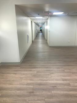 Corridor at Apartment Complex on State Fair Blvd