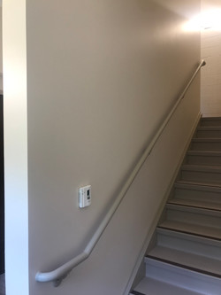 Stairwell at Apartment Complex on State Fair Blvd