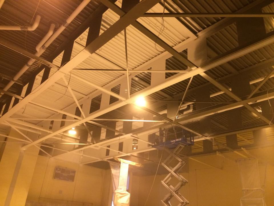 Gym Ceiling at George Junior