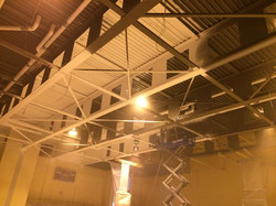 Gym Ceiling at George Junior
