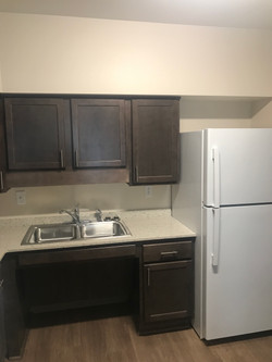 Unit Kitchen at Apartment Complex on State Fair Blvd