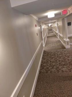 Corridor at Loretto D Wing