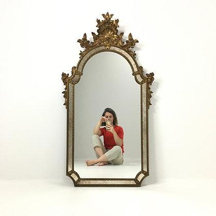 Glazing mirror