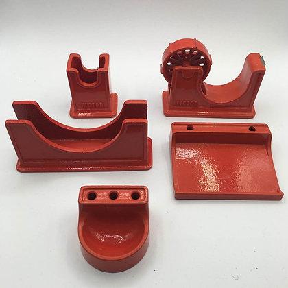 Cast iron desk set