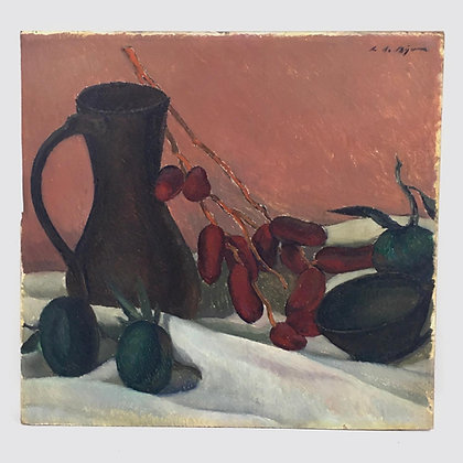 Still life with dates