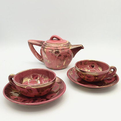 Tea service - Poterie Arts-Ceram / Grand feu