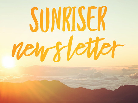 New Sunriser & PTA Newsletter posted!