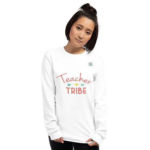 Women's Teacher Tribe Long Sleeve Shirt