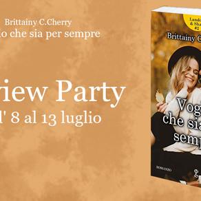 """Review Party - """"Voglio che sia per sempre"""" di Brittainy C. Cherry"""