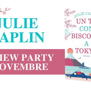 "Review Party - ""Un tè con biscotti a Tokyo"" di Julie Caplin"