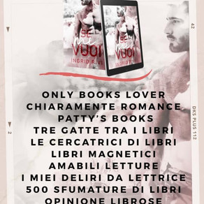 "Review Party - ""Se mi vuoi"" di Ingrid Rivi,"