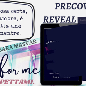 "Cover Reveal -  ""Wait for me"" di Sara Masvar"