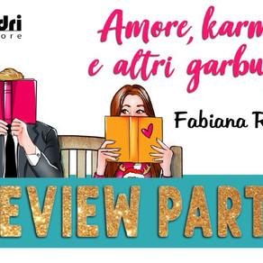 """Review Party - """"Amore, karma e altri garbugli"""" di Fabiana Redivo"""