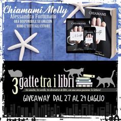 """Giveaway - """"Chiamami Melly""""          di Alessandra Fortunato."""