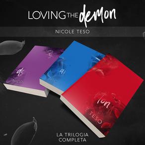 """Cover Reveal - """"Loving the demon"""" di Nicole Teso"""