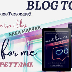 "Blog Tour - ""Wait for me. Aspettami"" di Sara Masvar"