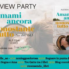 """Review Party - """"Amami ancora, nonostante tutto"""" di Alessia Iorio"""