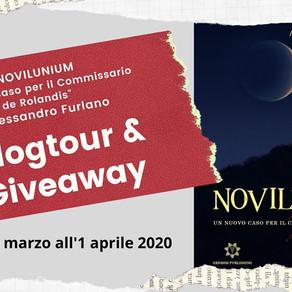 """Blog Tour+Giveaway-""""Novilunium, un nuovo caso per il commissario De Rolandis"""" di Alessandro Furlano"""
