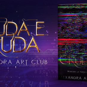 "Cover Reveal - ""Nuda e cruda"" di Alexandra Art Club"