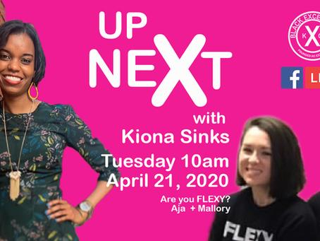 Up Next: Are you FLEXY ? Aja + Mallory