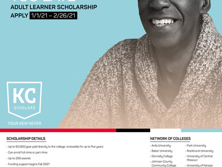 Apply to the KC Scholars Adult Learner Scholarship