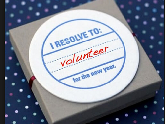New Year's Resolution to Volunteer More?