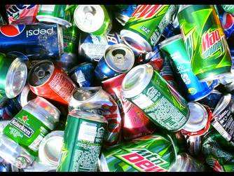 Paying it forward--with cans