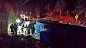 Quellón: 2 fallecidos de Puerto Montt y Talcahuano tras volcar camión