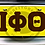 Thumbnail: CAR TAG (LETTERS)
